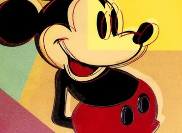 Paint Mickey Mouse Pop Art + Wine!
