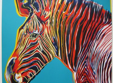 Paint Pop Art! Grevy Zebra