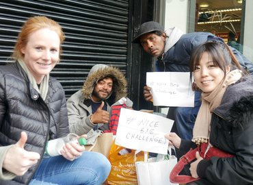 The Gift of Giving: Helping The Homeless