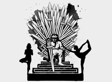 Game of Thrones Yoga | Iron Throne