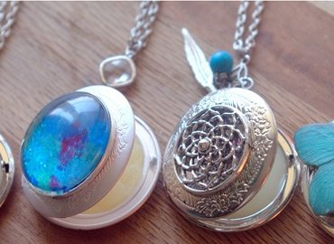 """Craft your own """"Healing in a Locket"""""""