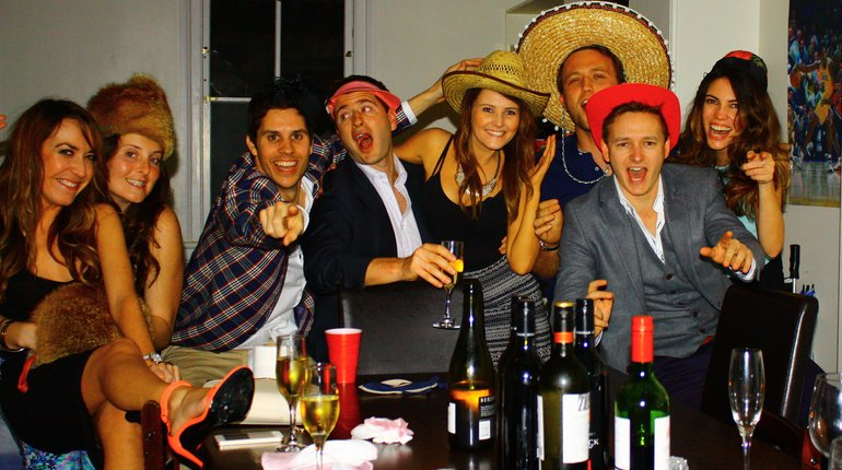 Dinner Parties For Singles Part - 28: Join A Roaming Dinner Party Singles Event ...